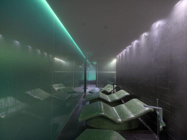 Mandarin Oriental Barcelona spa steam room