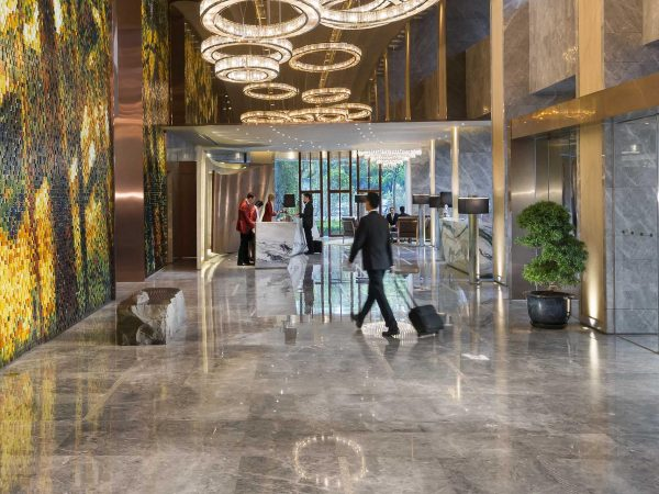 Mandarin Oriental Pudong Lobby
