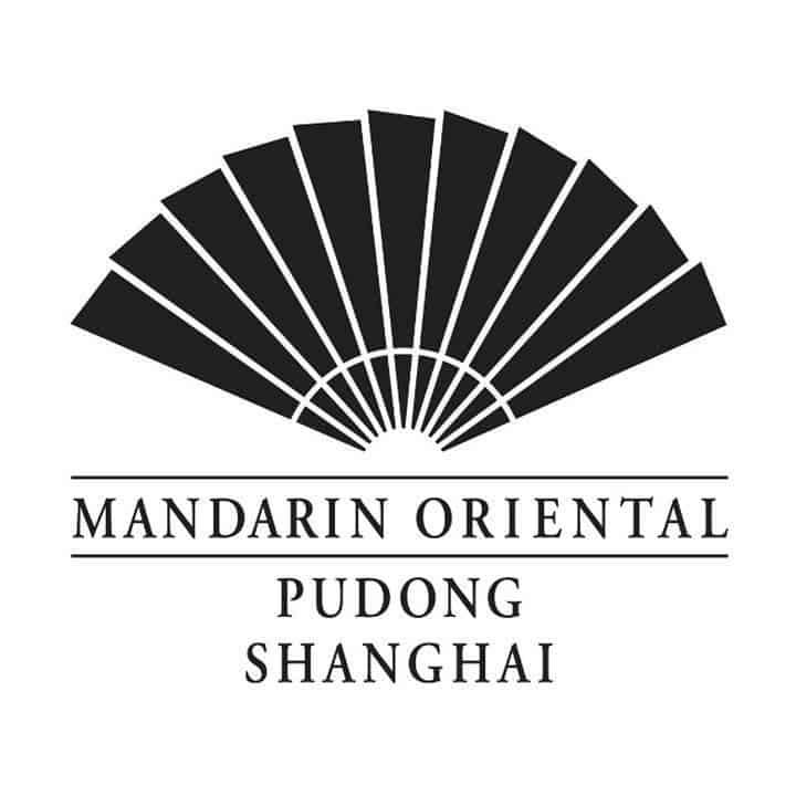 Mandarin Oriental Pudong, Shanghai logo