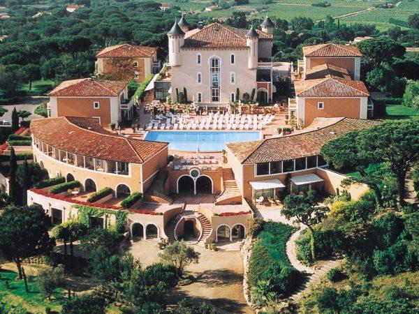 Chateau de la Messardière tropez Aerial