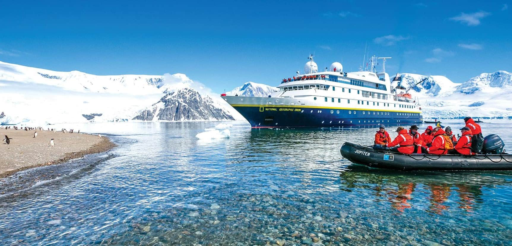 National Geographic Orion Antarctic Expedition Cruise by Lindblad Expeditions