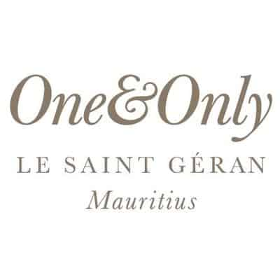 One and Only Le St Geran Mauritius logo