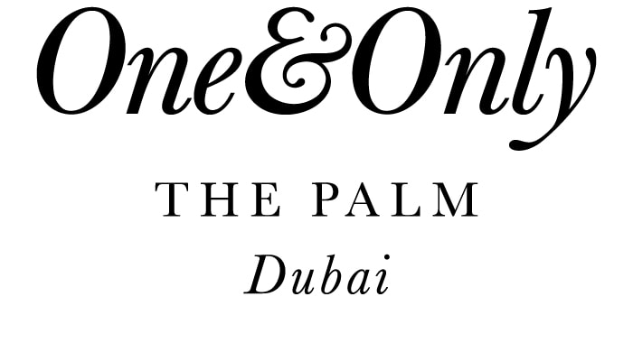 One and Only The Palm Dubai Logo
