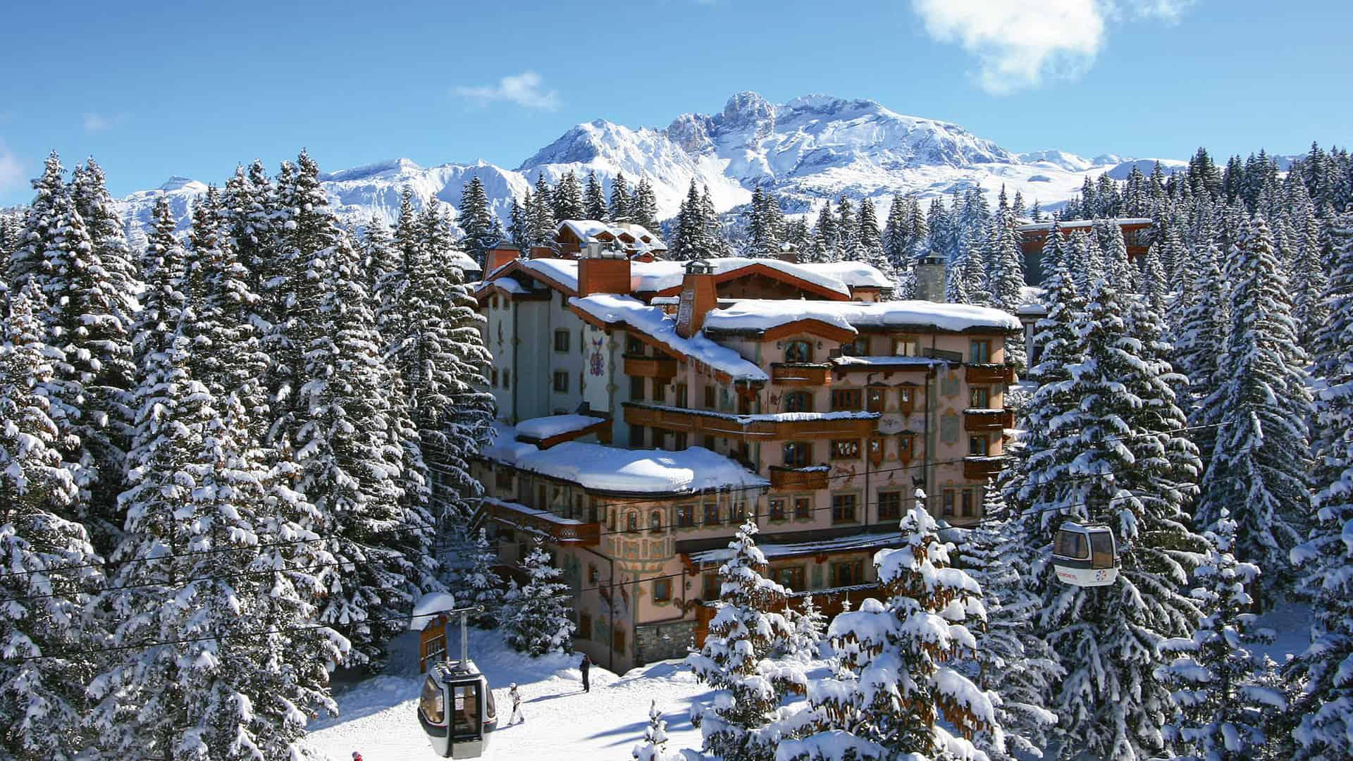 Palace Les Airelles Hotel View