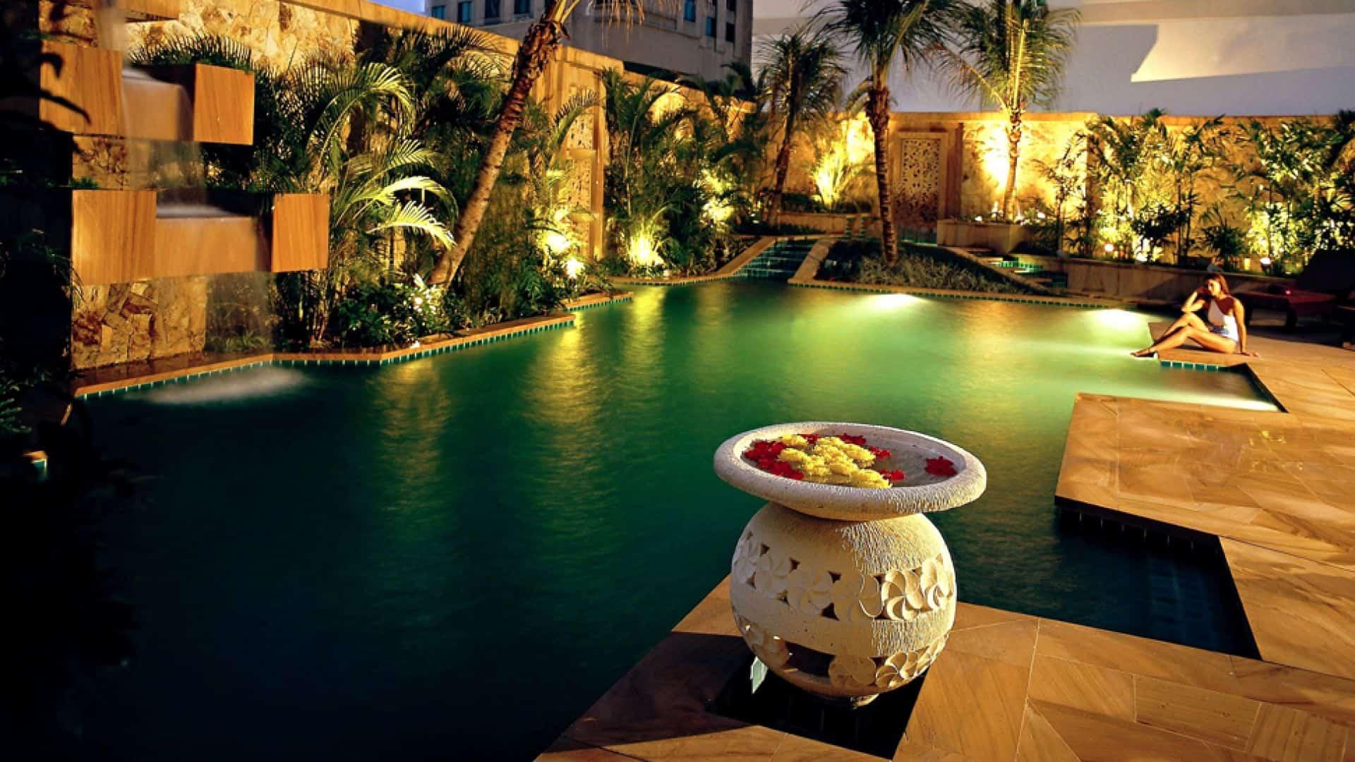 The Ritz-Carlton Kuala Lumpur Private Pool Night