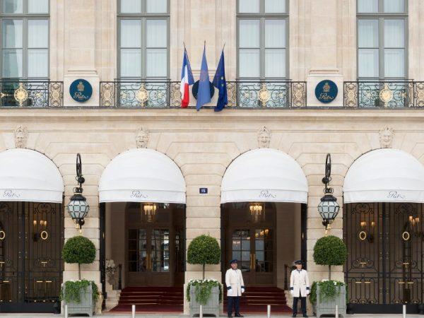Ritz Paris Entrance