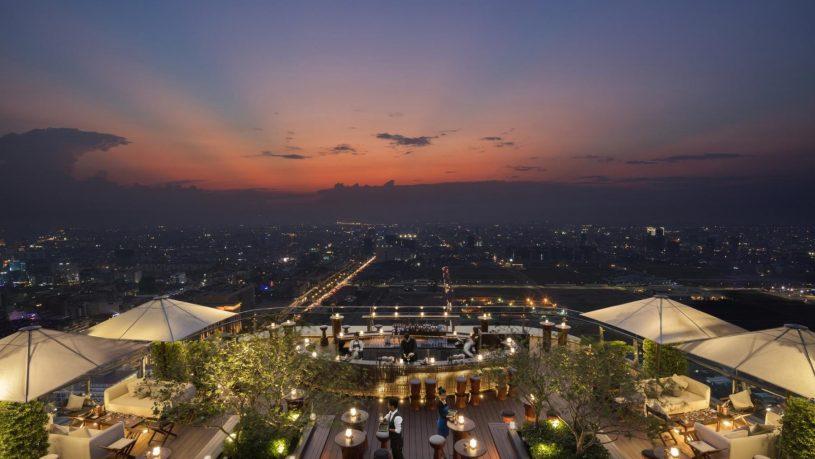 Rosewood Phnom Penh Top View