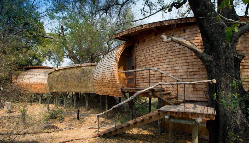 AndBeyond Sandibe Okavango Safari Lodge family suite