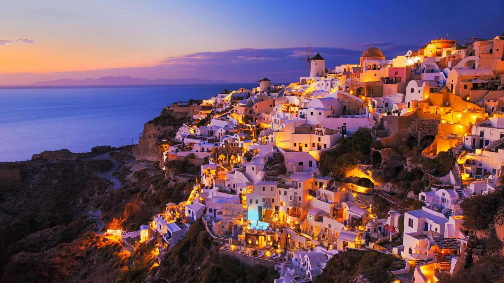 Santorini-Sunset,Greece