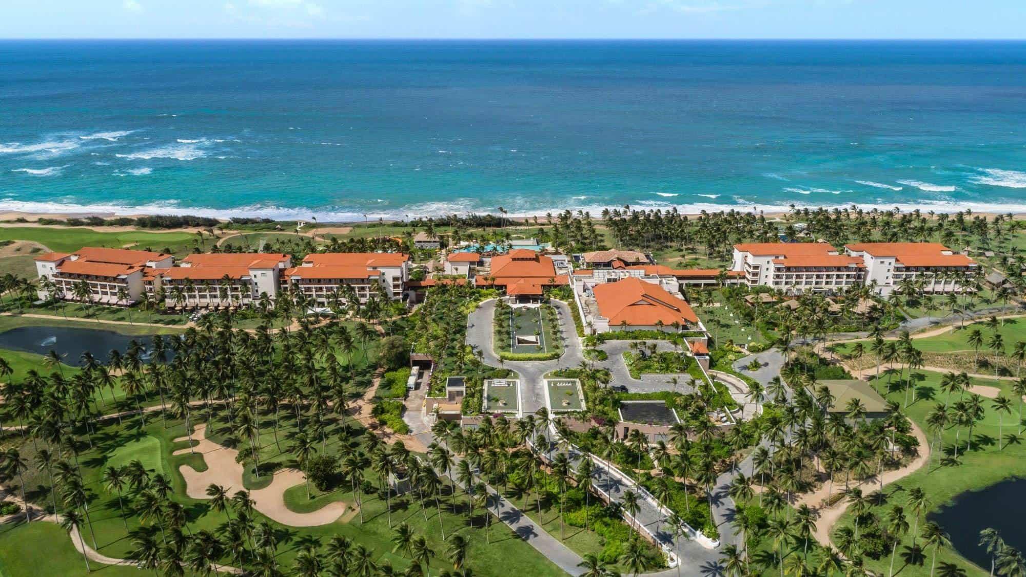 Shangri La's Hambantota Golf Resort and Spa Arial View