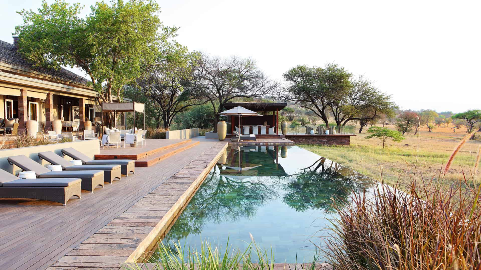 Singita Serengeti house pool