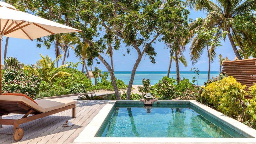 Sis Senses Fiji beachfront pool villa