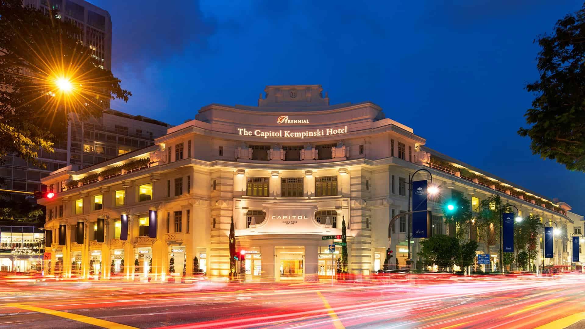 The Capitol Kempinski Hotel Singapore Exterior View