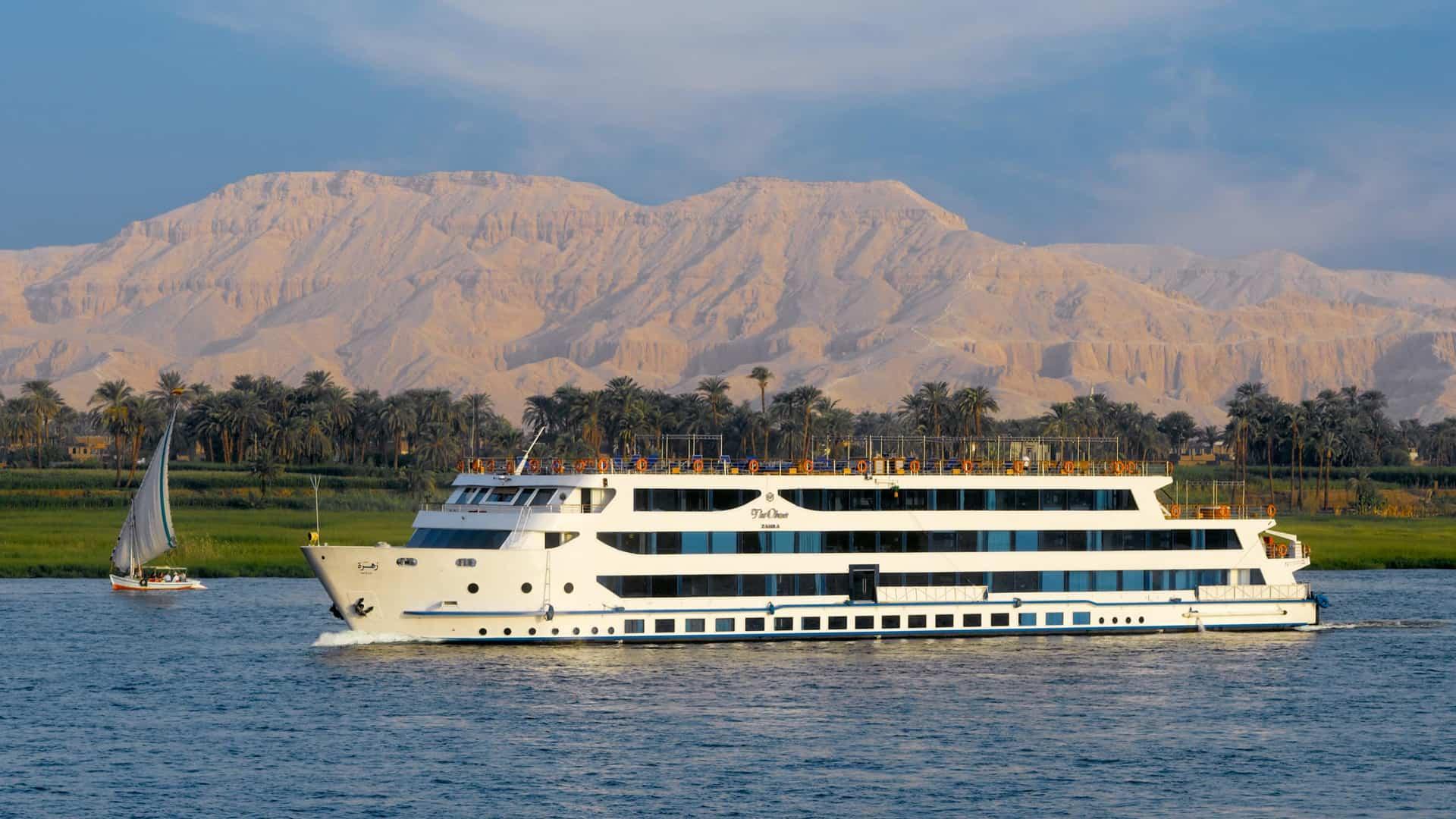 The Oberoi Luxury Nile Cruisers