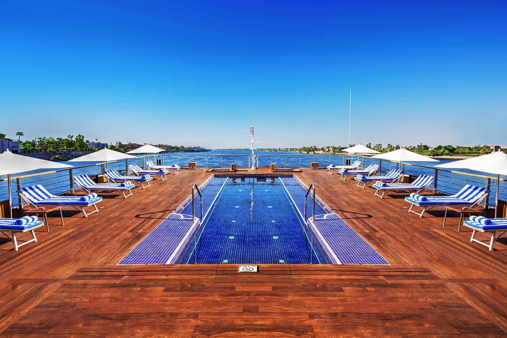 The Oberoi Zahra Nile Cruise Pool