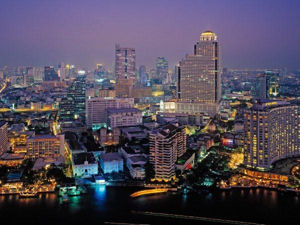 The Peninsula Bangkok Skyline View