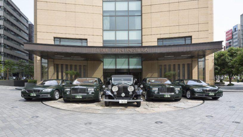 The Peninsula Tokyo Rolls-Royce and BMW Car Fleet