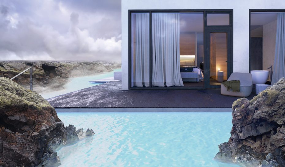 The Retreat at Blue Lagoon Iceland pool