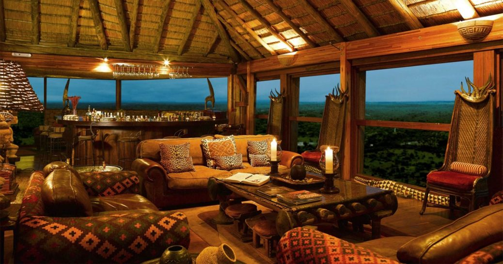 Ulusaba Private Safari Game Reserve Lounge