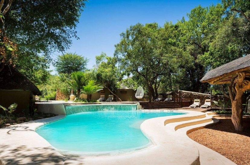 Ulusaba Private Safari Game Reserve Pool