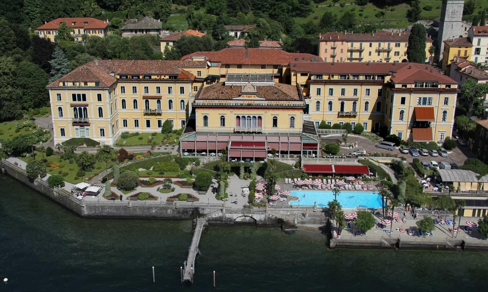 Villa Serbelloni Ariel View