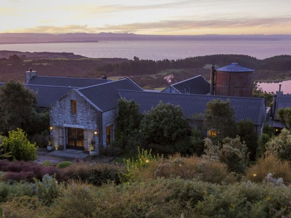 cape kidnappers evening shot
