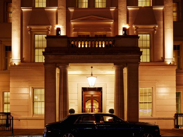 The Lanesborough London Winter Exterior
