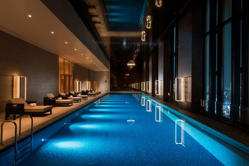 Conrad Osaka Indoor Pool