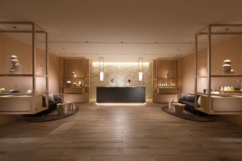 Conrad Osaka Spa Entrance
