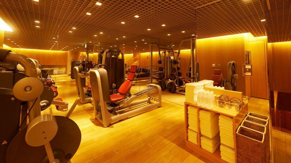 Gym at Grand Hyatt Tokyo