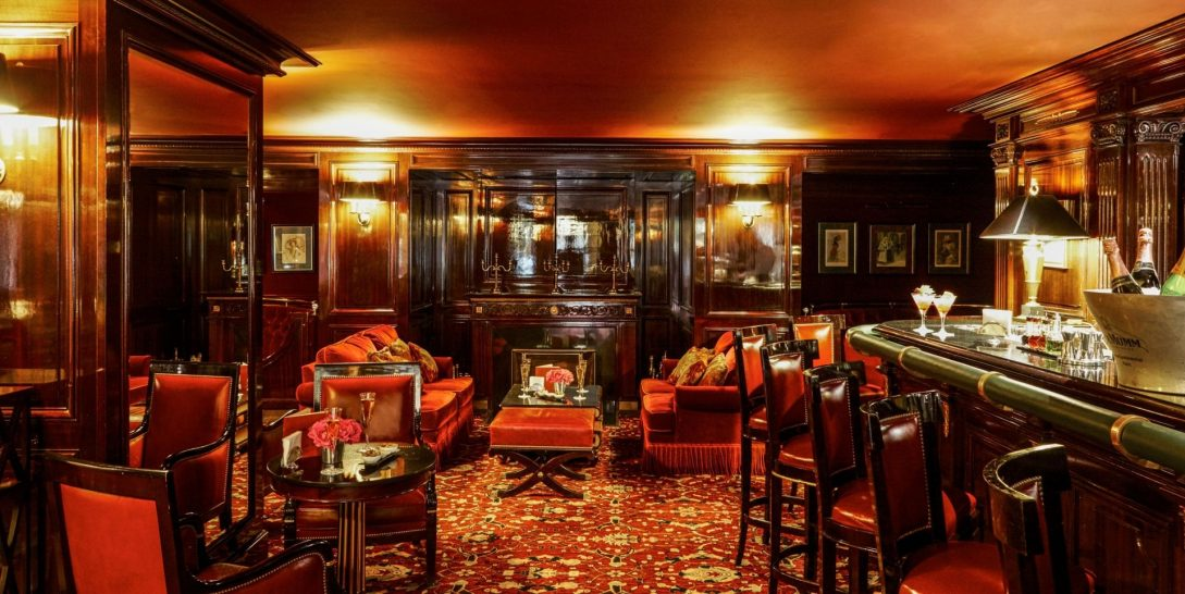 Bar at Intercontinental Paris Le Grand