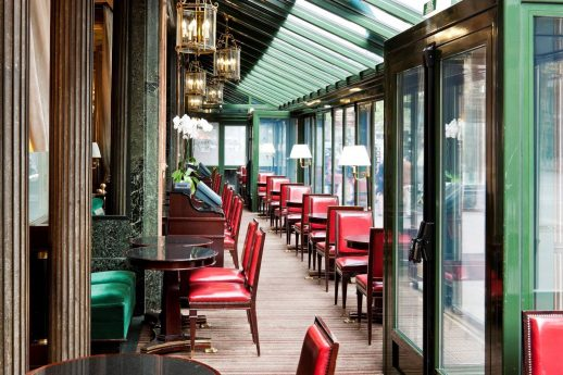 Cafe de la Paix - covered seating