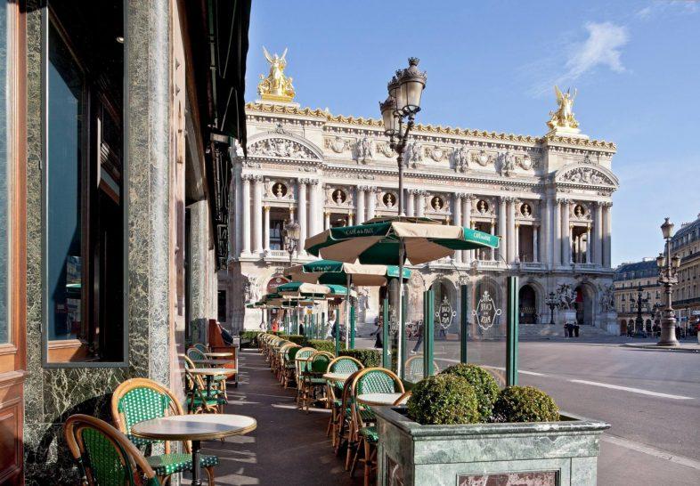 Cafe de la Paix Paris France exterior