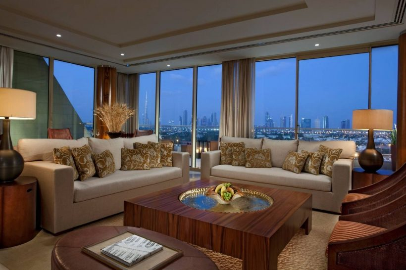Diplomatic Suite Living Room