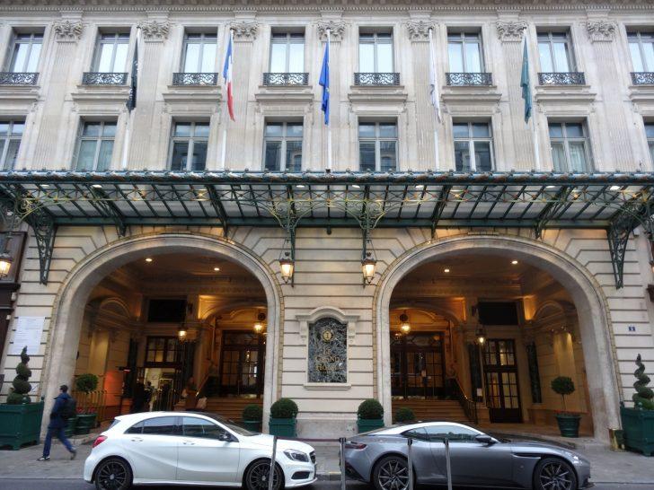 Intercontinental Paris Le Grand Entrance