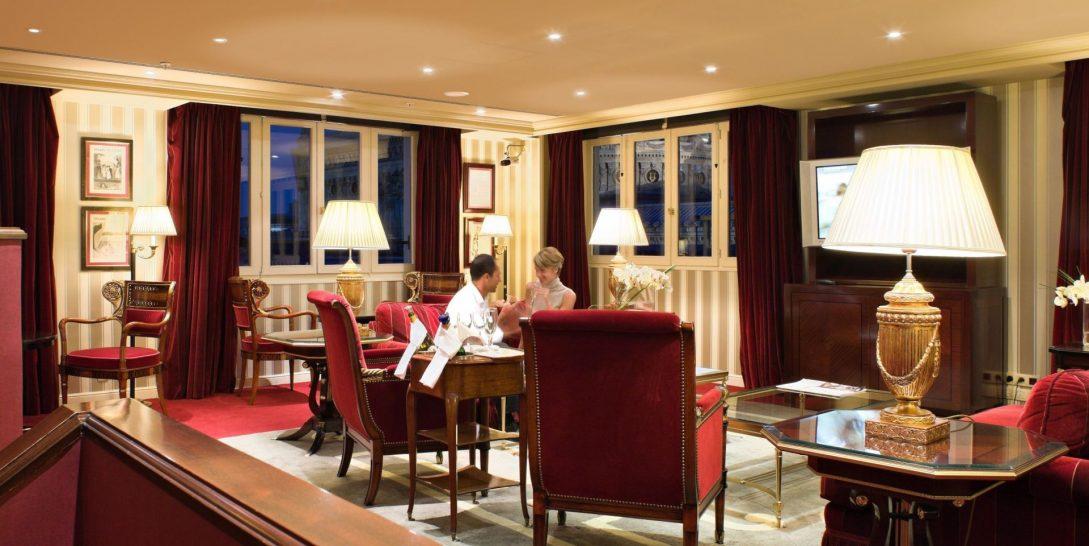 Intercontinental Paris Le Grand Executive Club Lounge