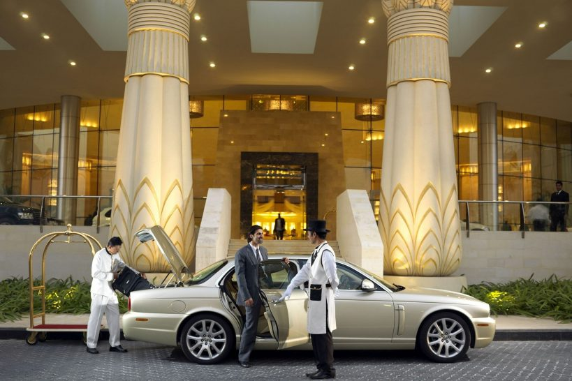 Raffles Dubai Arrival