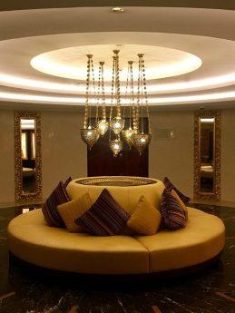 Raffles Dubai Hallway Seating
