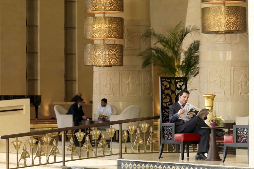 Raffles Dubai Lobby