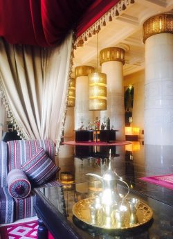 Raffles Dubai Lobby Seating