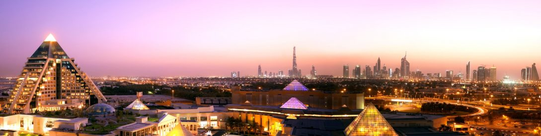 Raffles Dubai Panorama