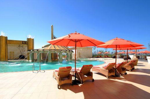 Raffles Dubai Pool Deck
