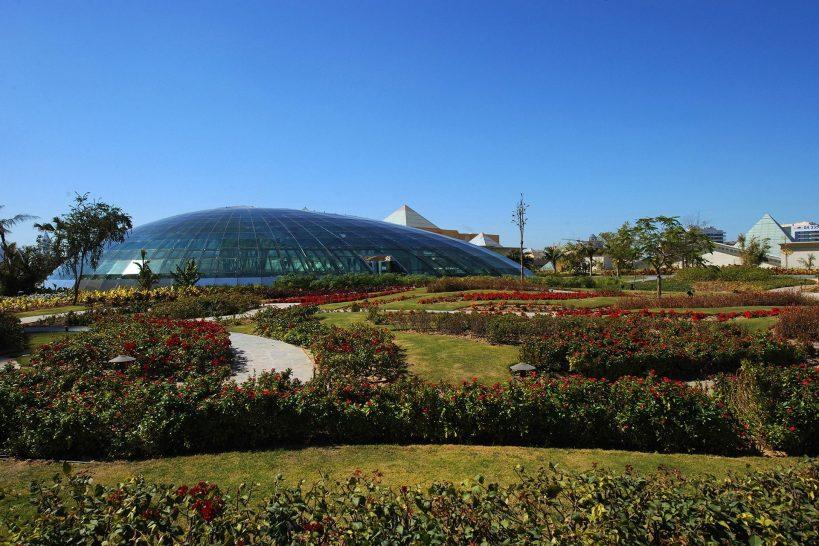 Raffles Dubai Rooftop Gardens