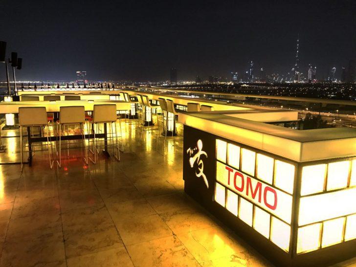 Raffles Dubai Tomo Japanese Restaurant
