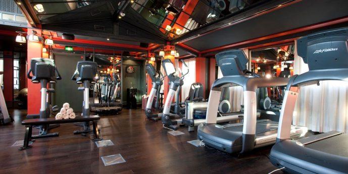 Spa Nuxe Les Bains de Lea Fitness Area