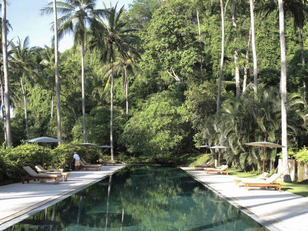 Amankila Beach Club Lap Pool