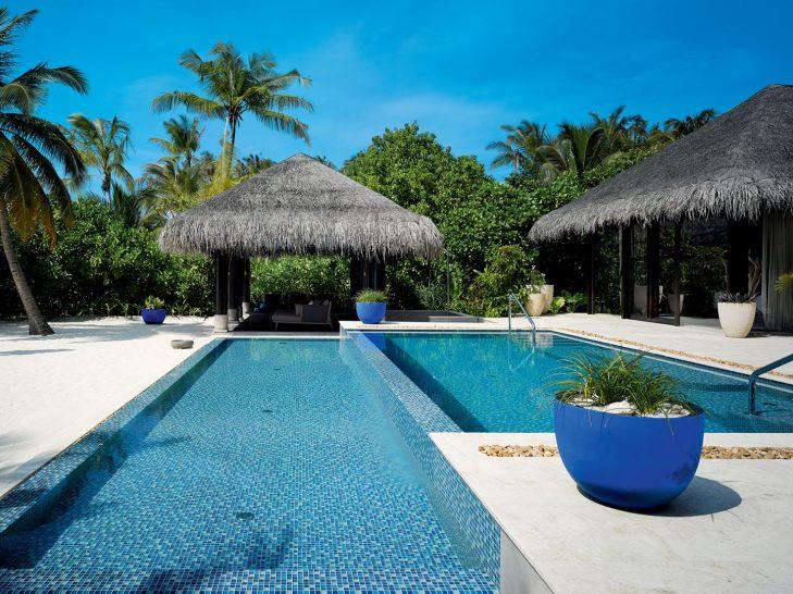 Beach Pool House Exterior