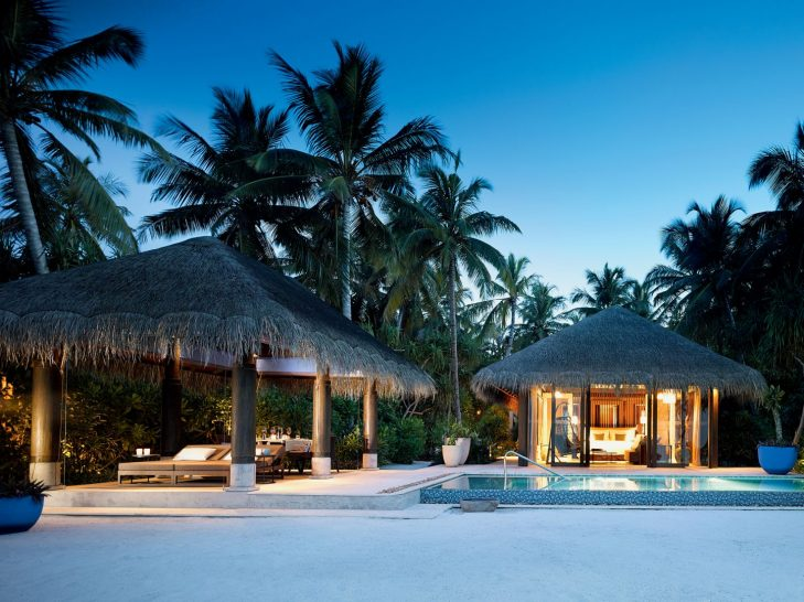 Beach Pool Villa Exterior View
