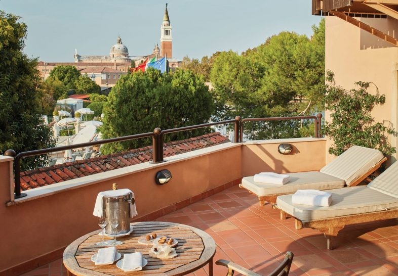 Belmond Hotel Cipriani Exclusive Suite w Lagoon View Terrace