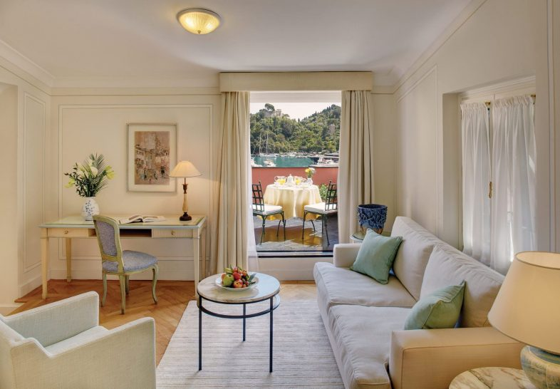 Belmond Hotel Splendido Mare Suite Seaview